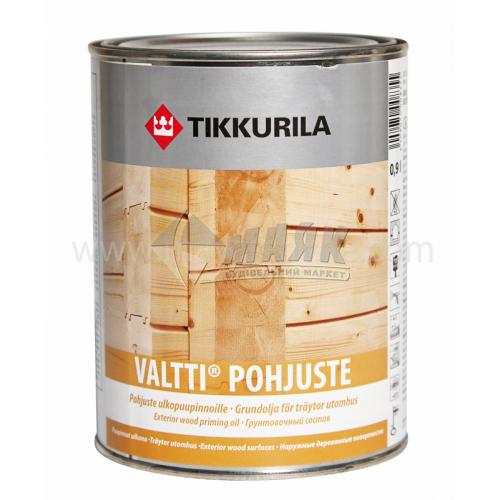 Ґрунтовка для деревини Tikkurila Valtti Primer для зовнішніх робіт 0,9 л