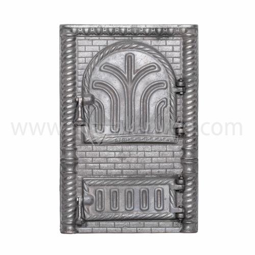 Дверцята спарені декоративні Фортеця 340×515 мм 16,5 кг
