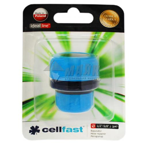 """З'єднувач для шланга пластиковий Cellfast редукційний 1/2""""-3/4"""""""