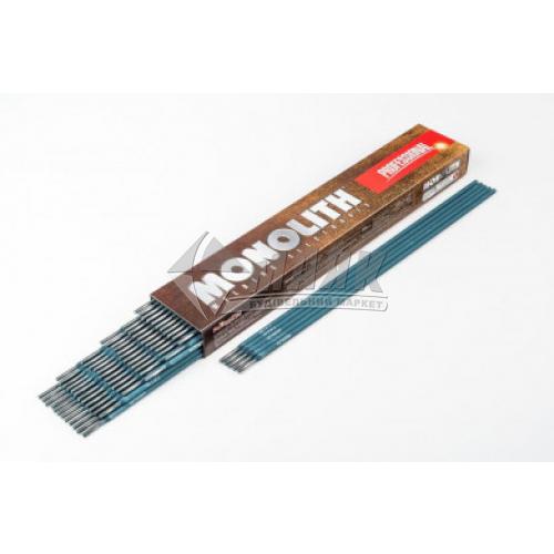 Електроди зварювальні Monolith Professional 3 мм 2,5 кг