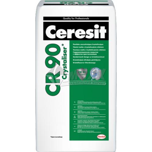 Суміш гідроізоляційна полімер-цементна Ceresit CR 90 CRYSTALISER однокомпонентна 25 кг