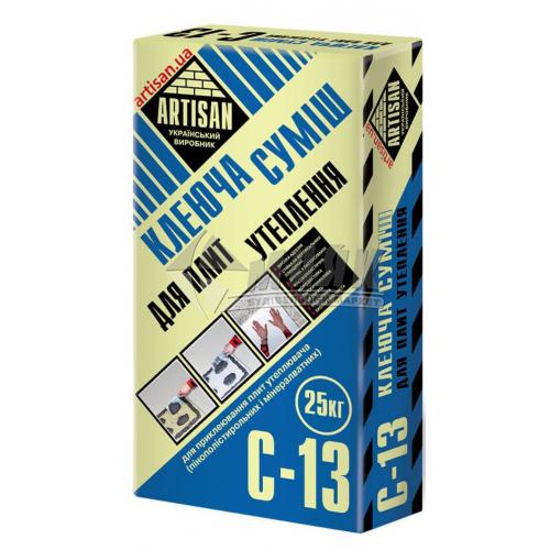 Клей монтажний для систем теплоізоляції Artisan C-13 25 кг