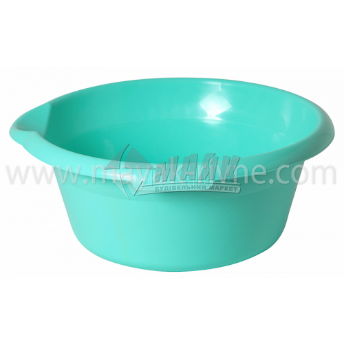 Миска пластикова господарська кругла з носиком 5 л в асортименті