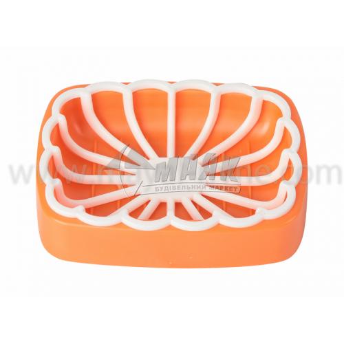 Мильниця з сіткою оранжева