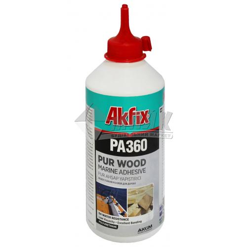 Клей для деревини поліуретановий Akfix PA360 D4 560 г