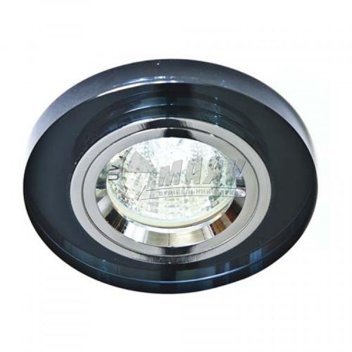 Світильник точковий вбудований Feron 8060-2 (CD3004) МR16 GU5.3/G5.3 сірий-срібло