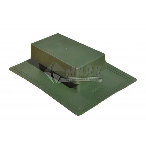 Грибок вентиляційний ТЕХНОНІКОЛЬ для бітумної черепиці зелений