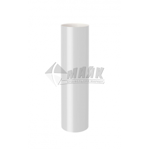 Труба водостічна пластикова NewWay 85 мм 3 м біла