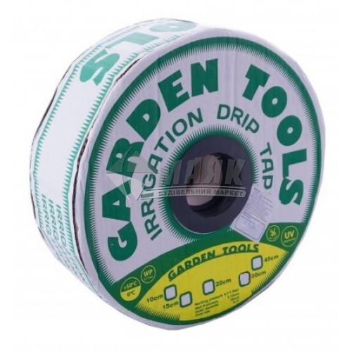 Крапельна стрічка Garden Tools 6 mils (0,15 мм) 15 см х 500 м