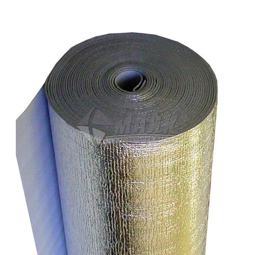 Теплоізоляція одностороннє фольгування алюмінієве Теплоізол 5 мм 1×50 м