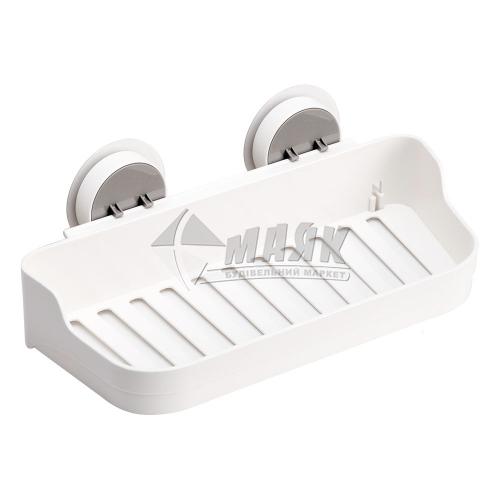 Полиця клейка MVM BP-3 пластикова біла