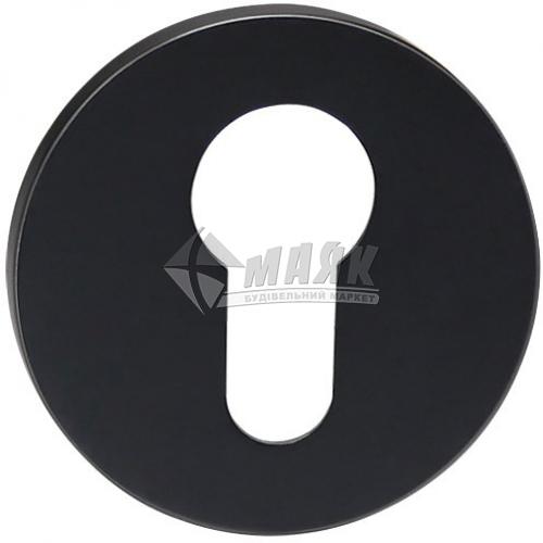 Накладка на циліндр кругла MVM E19 Black чорний