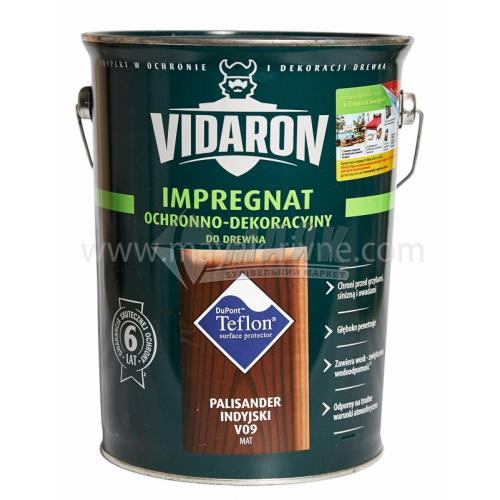 Захист для деревини Vidaron Impregnat 4в1 V09 9 л індійський палісандр