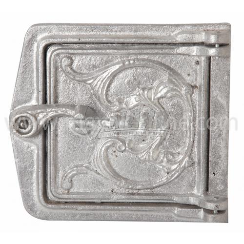 Дверцята прочисні алюмінієві 155×170 мм 0,45 кг