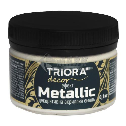 Фарба декоративна TRIORA Metallic 0,1 кг 925 перлина