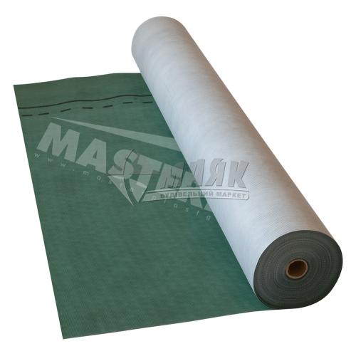 Гідробар'єр MasterMax 3 Extra Супердифузійна мембрана 175 г/кв.м 1,5 м 50 пог.м (75 кв.м) зелений