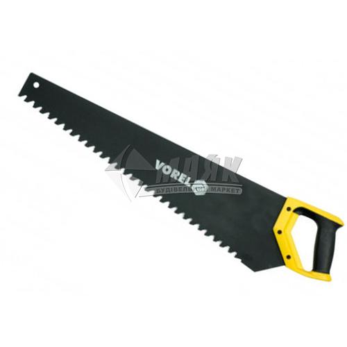 Ножівка по піно- та газобетону VOREL 15TPI 600 мм пластикова ручка
