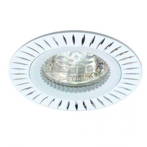Світильник точковий вбудований Feron GS-M394 МR16 GU5.3/G5.3 білий