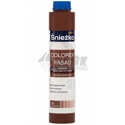 Барвник Sniezka Colorex Fasad 0,75 л 181 горіх середній