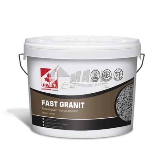 Штукатурка декоративна акрилова Fastrock FG10 Мозаїка 14 кг