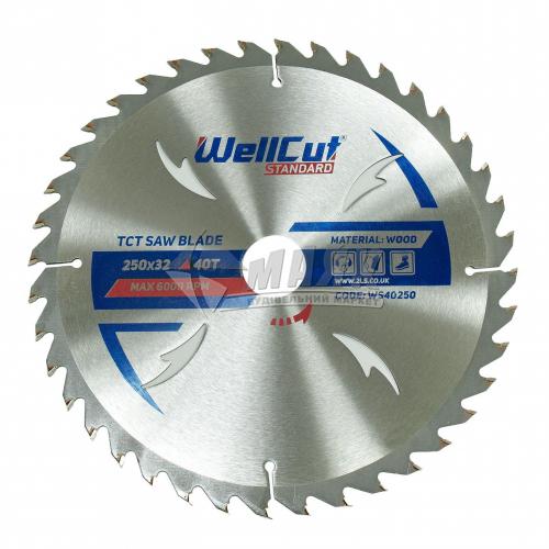 Диск пиляльний WellCut Standard 300×32 мм 30Т