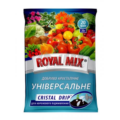 Добриво гранульоване ROYAL MIX GRANE FORTE універсальне 1 кг відро