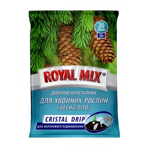 Добриво гранульоване ROYAL MIX GRANE FORTE для хвойних 1 кг відро