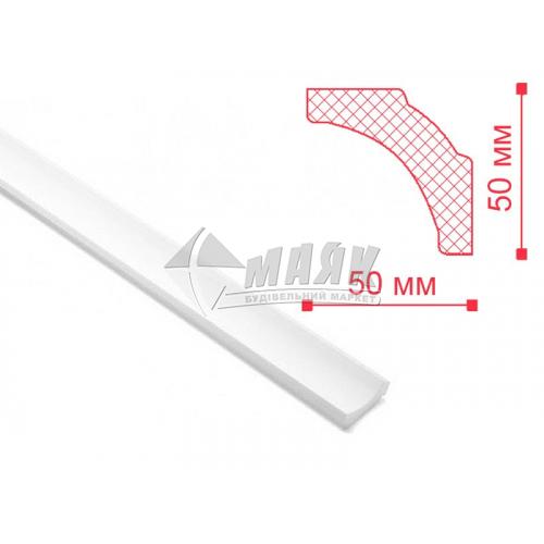 Плінтус стельовий декоративний NMC В5 Nomastyl 50×50×2000 мм