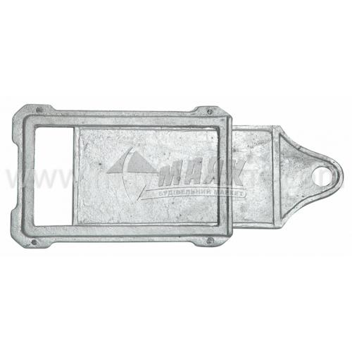 Шибер (заслонка) алюмінієвий ША-2 370×170×270 мм 1,13 кг