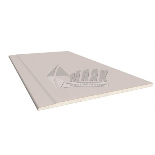 Гіпсокартон Siniat Plato Format 12,5×1200×500 мм (0,6 кв.м)