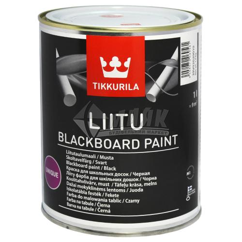 Фарба декоративна Tikkurila Liitu 1 л чорна