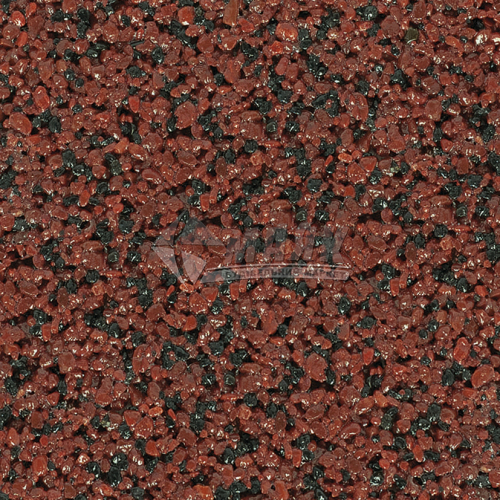 Штукатурка декоративна акрилова для цоколя Anserglob №705 Мозаїка 0,63-1,4 мм 25 кг