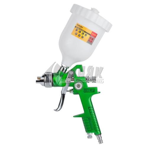 Фарборозпилювач SIGMA 0,6 л з верхнім бачком зелений