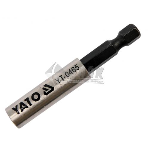 Тримач магнітний для біт YATO 60 мм