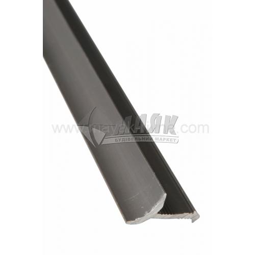 Профіль для плитки алюмінієвий TIS ВАП 2700 мм бронза матова