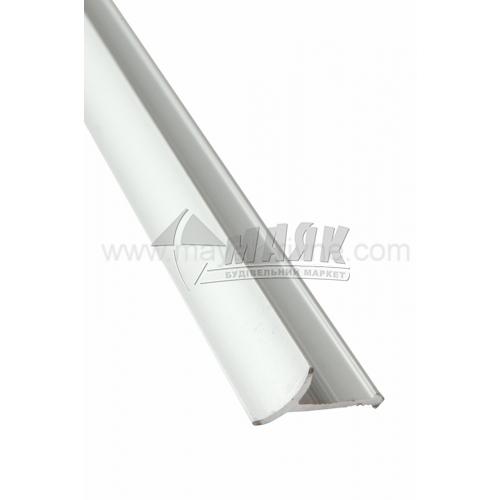 Профіль для плитки алюмінієвий TIS ВАП 2700 мм срібло матове