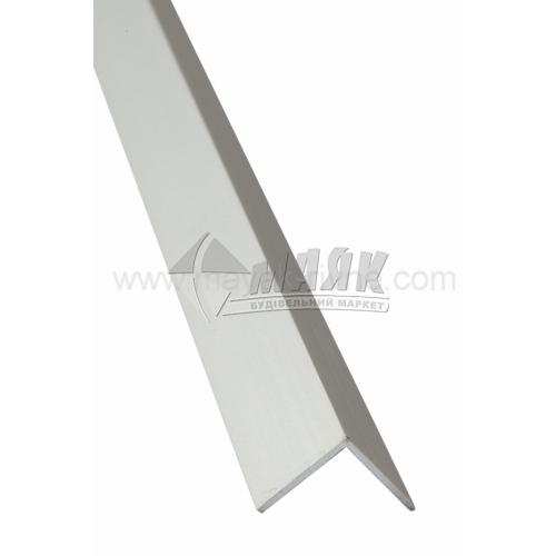 Профіль для плитки алюмінієвий TIS АК15 15×15×2700 мм срібло