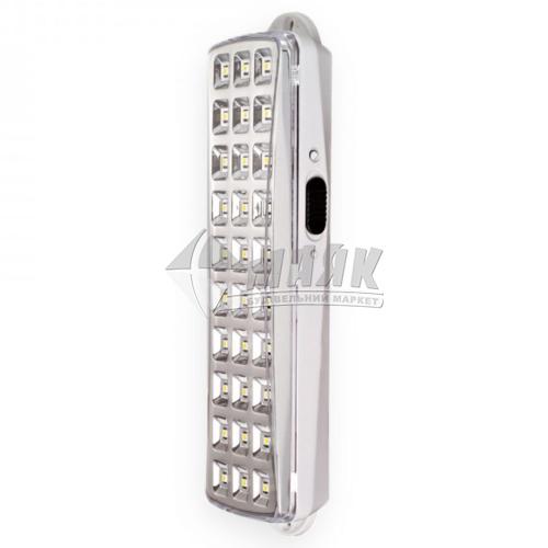 Світильник аварійний вказівник світлодіодний акумуляторний Feron EL119 220В 4Вт білий