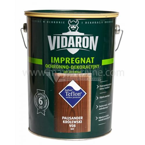 Захист для деревини Vidaron Impregnat 4в1 V03 9 л біла акація