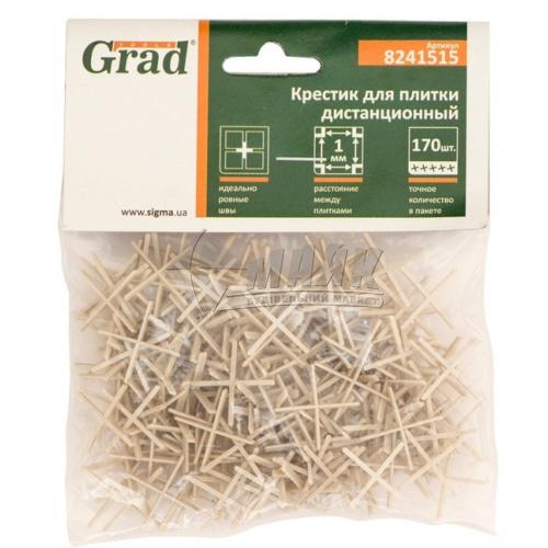 Хрестики дистанційні для плитки Grad 1,0 мм 170 шт