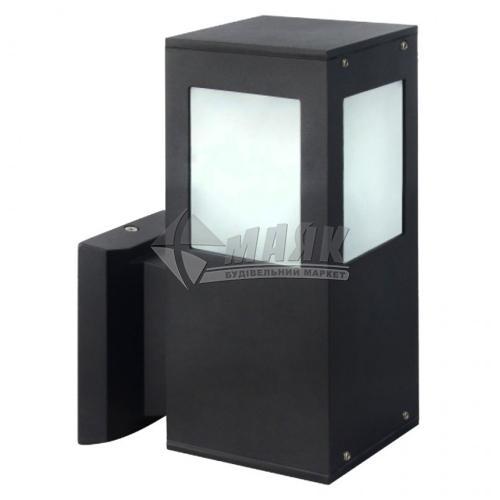 Світильник вуличний HOROZ KAVAK/SQ-2 60Вт Е27 IP44 настінний чорний