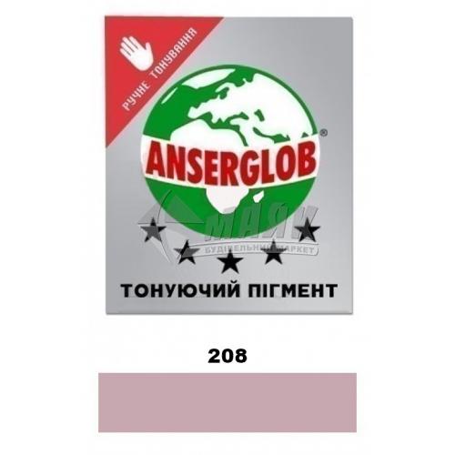 Пігмент для фуги (затирки) Anserglob 50 г 208 рожевий