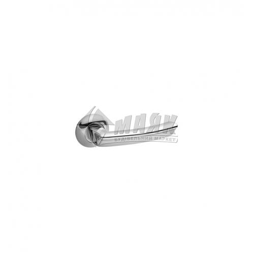 Ручки дверні на розетці Avers Spindle 130 H-0893-A-CR хром