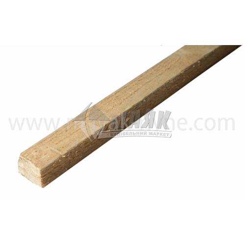 Рейка дерев'яна 30×40 мм смерека 2,0 м