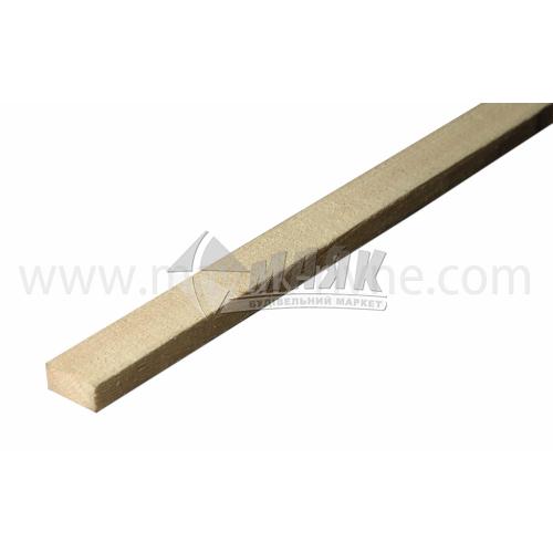 Рейка дерев'яна 20×50 мм смерека 2,5 м