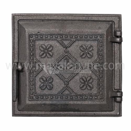 Дверцята для топки Булат Вишиванка 265×245 мм 4,66 кг