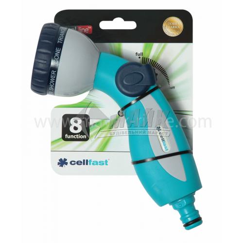 Пістолет-розпилювач пластиковий Cellfast Mix душовий