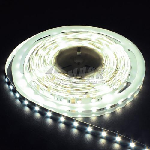 Стрічка світлодіодна Feron LS606 SANAN LED-RL 60SMD 14,4 Вт/пог.м 12В IP20 5 пог.м біла