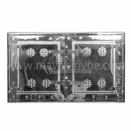 Дверцята для печі нержавіюча сталь 930×540 мм 11,45 кг