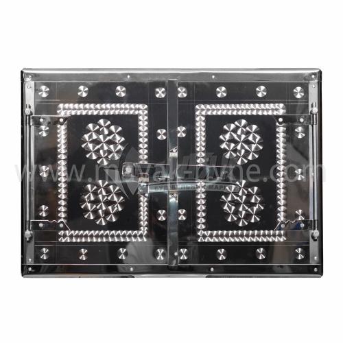 Дверцята для печі нержавіюча сталь 600×400 мм 5,25 кг